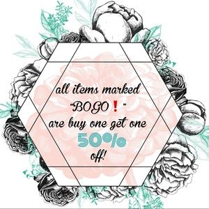 get stocked up with BOGO items!